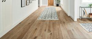 Methods of application of vinyl flooring.